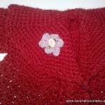 Cappottino rosso di lana