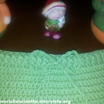 Pantaloni verdi di lana