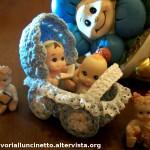Carrozzina per Bomboniera Battesimo ad Uncinetto